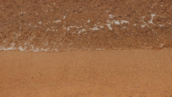 point median séparation mer sable
